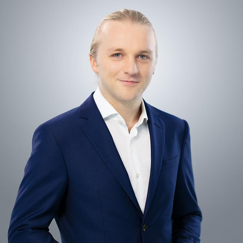 Portrait von Dr. med. Jonas Bendig